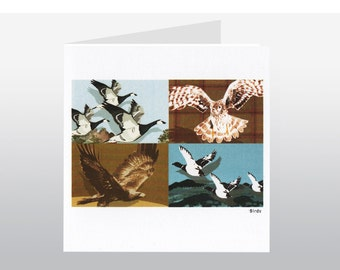 Scottish Birds Art Card SC01