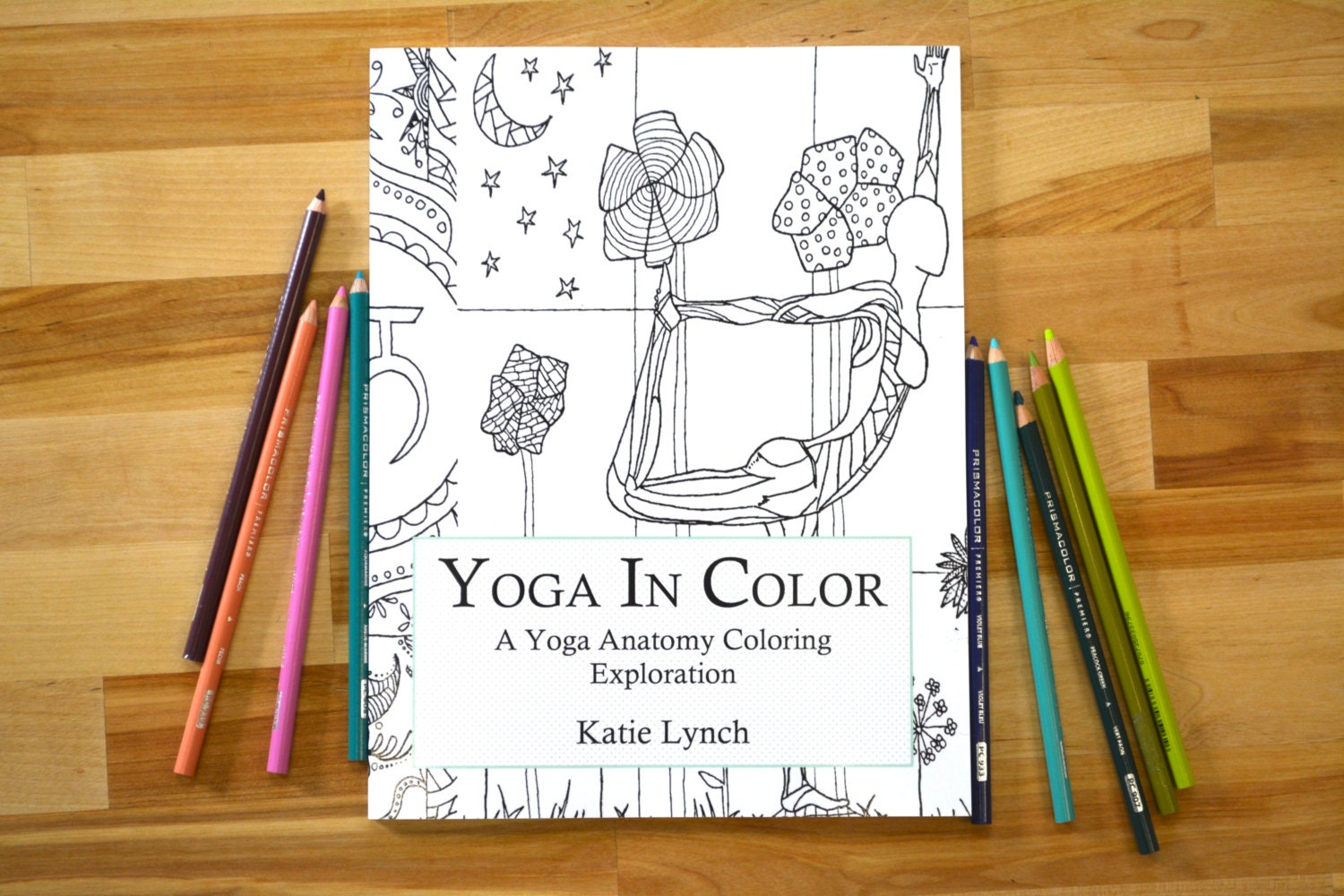 Yoga In Color A Anatomy Coloring Book