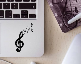 free the music decal, music decal, music note decal