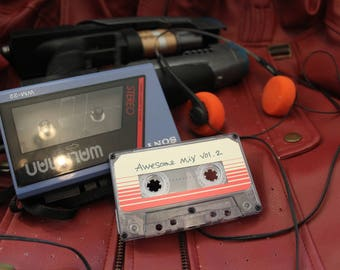 Awesome mix vol. 2 tape! Guardians of the Galaxy vol. 2 Soundtrack!