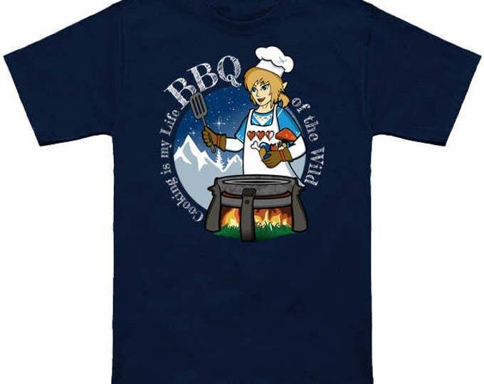 Hyrule BBQ Of The WILD Legend of Zelda Breath of the Wild T-Shirt Link  Sheikah Slate Nerd Pop Culture Nintendo Switch Nes Shirt