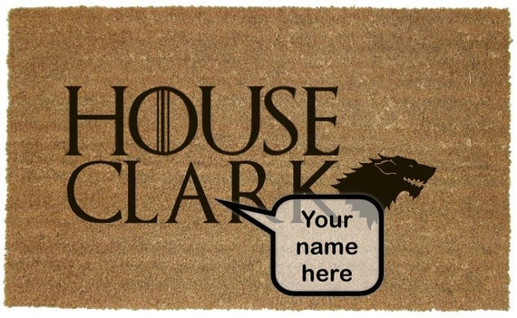 Custom Personalized Game Of Thrones House By Southbysouthhome