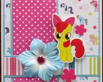 My Little Pony - Applebloom - Card