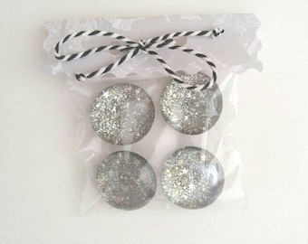 Sparkly Office Magnets
