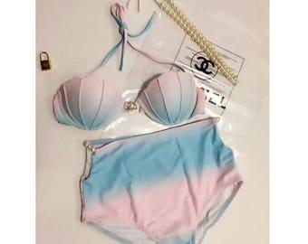 Shell shape bikini