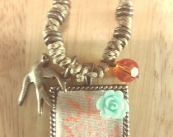 Spring Whimsy - necklace