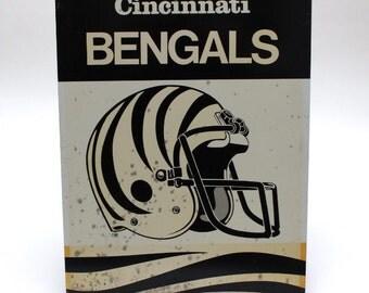 Classic Sports Tin-Cincinnati Bengals