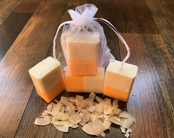Vegan Coconut Mango Soap
