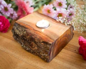 SALE Wooden Tealight Holder, Candle holder, Home decor