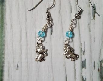 Cinderella Charm Earrings