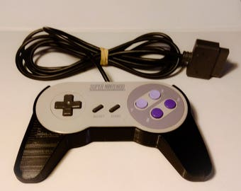 Super NES Controller grip,High Quality 3D Printed PLA plastic Free Shipping