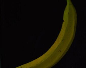 banana paintings  paintings of bananas kitchen decor  still life paintings  kitchen art