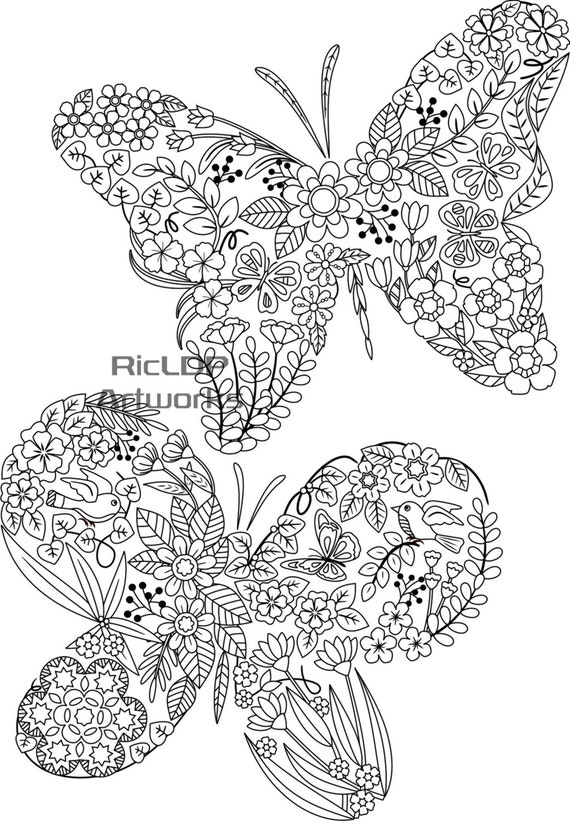 Three 3 Uniquely Shaped Coloring Pages Swan-shaped