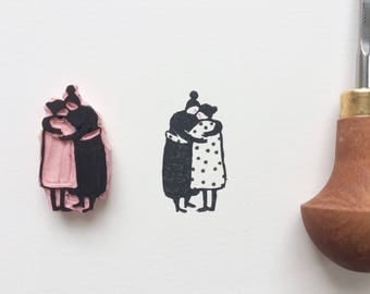 Love is love  'limited edition linocut print'