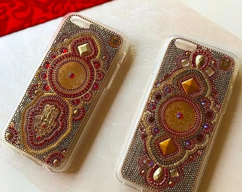 Iphone 7 plus hamsa hand case hamsa phone case gold handmade chic phone case ochic phone case iphone samsung phone cases