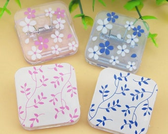 Aihao Cherry Blossom cute kawaii kitsch large plastic paperclips paper clips set of 4 choice of colour