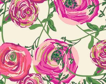 KNIT Fabric,  Paradis Sweet, Art Gallery Knits, Cotton Spandex Knit, Jersey Knit Fabric, Floral Knit Fabric, K-89120