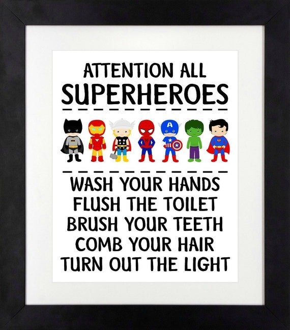 bathroom rules for kids bathroom 16379