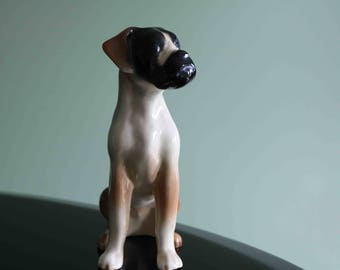 Fabulous Coopercraft Boxer Dog Figurine  Excellent condition