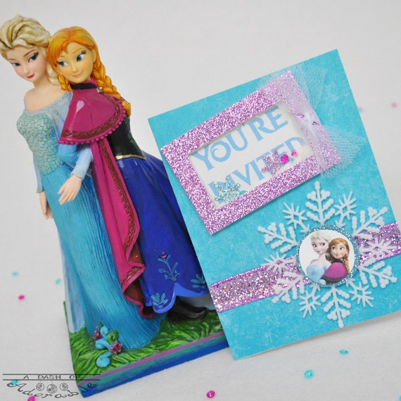 Frozen Invitation Disney Frozen Elsa Invitation Disney Frozen