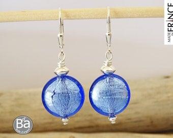 Blue earrings candy earrings