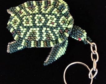 USA FREE SHIPPING!!! Native American Ornament/Key Ring Sea Turtle