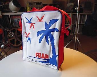 vtg 1970/80 travel bag FRAM airport