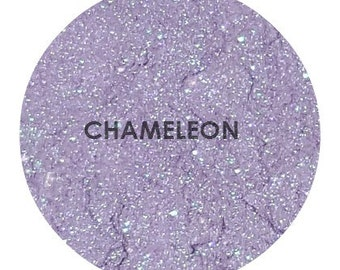 Shade Beauty Chameleon Pale Green with Lavendar Duochrome Shimmer Mineral Eyeshadow Pigment Cruelty Free, Duochrome Eyeshadow