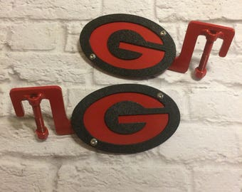 Georgia G two-layer footpegs