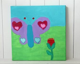Kids Room Decor - Gifts Under 30 - Kids Room Art - Kids Room Wall Art - Kids Room Wall Decor - Kids Painting - Gift for Kids