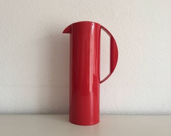 Jug Mepal Rosti Danish design juice pitcher retro schenkkan, sapkan, vintage waterkan 1970's Holland
