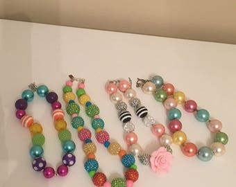 READY TO SHIP Bubble Gum Necklace