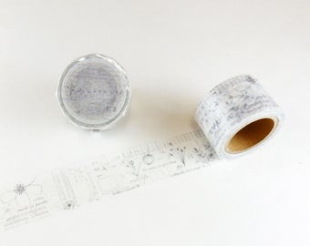 Little Path x Chamil Garden 7th  Flower's Movement design washi tape /masking tape 10m 104446909*
