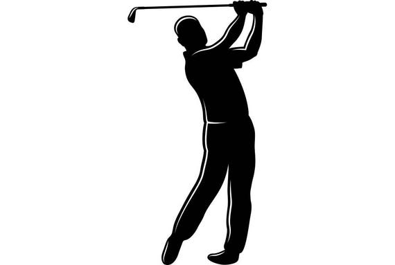 Download Golfer Swinging #2 Golf Club Golfing Clubs Sports Game.SVG ...