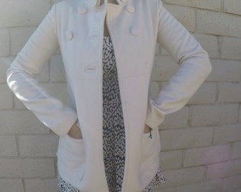 Vintage Off-White Winter Coat