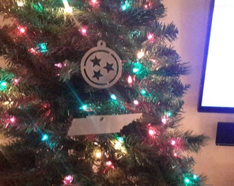 Tennessee TriStar Christmas Ornament