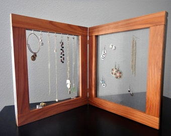 Redwood Jewelry Frames