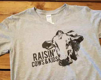 Raisin' cows and kids
