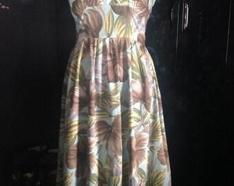 A lovely 1950's inspired summer dress