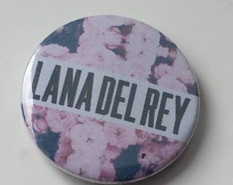Lana Del Rey inspired badge