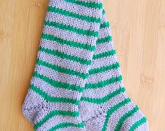 Baby knee high socks, Baby knee socks, Knitted baby knee socks, crochet baby knee socks, striped baby knee socks, Knitted baby socks