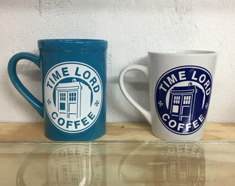 Dr. Who Time Lord Coffee Mug
