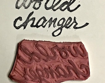 World Changer stamp