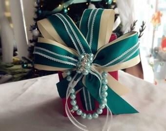 Swarovski Rhinestone headband / hairbow / fascinator / clip / hair accessories for New Year, Christmas, photoshoot, lolita, bridesmaid #006