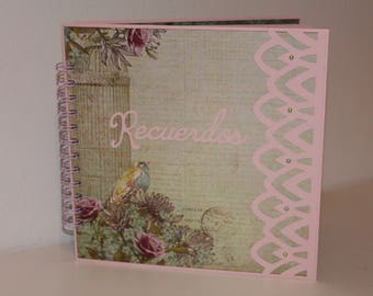 Photo album. Photos. Mother's day. Special occasion. Birthday. Memories. Scrapbooking. Handmade. Custom.