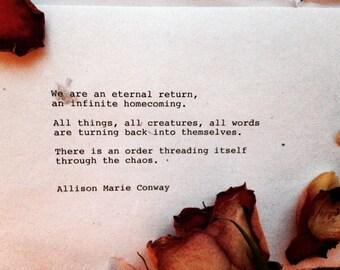 Where We Go Home - poem