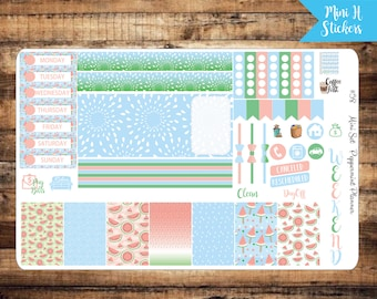 Mini H Planner Summer Watermelon {#58}