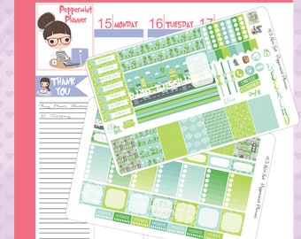 Mini H Planner Big City Weekly Stickers #63