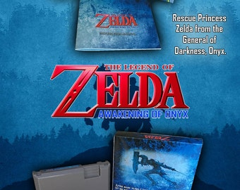 Zelda: Awakening of Onyx CIB NES NINTENDO