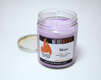 Mare - Red Queen Inspired Soy Candle - Rain and Sea Scent
